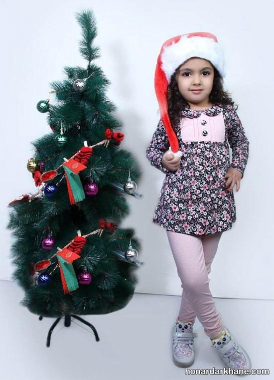 لباس دخترانه جدید و شیک برای عید نوروز