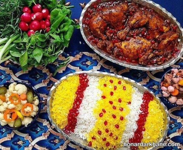 تزیین شیک برنج