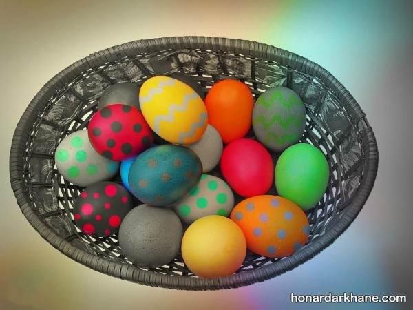 تخم مرغ رنگی هفت سین 98