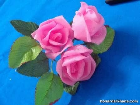 درست کردن گل توری
