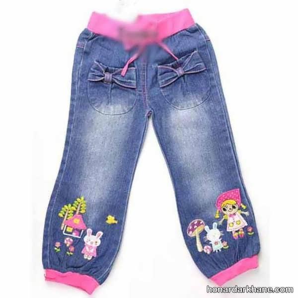 مدل های زیبا شلوار جین بچگانه