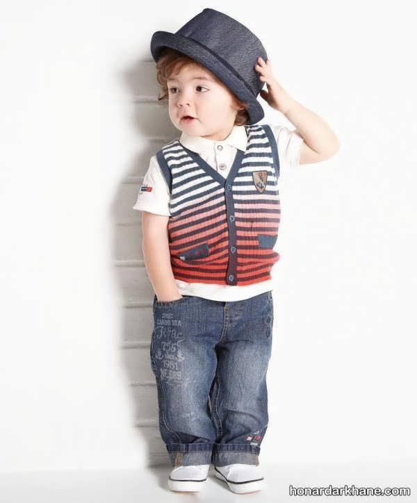 مدل های جذاب شلوار جین بچگانه