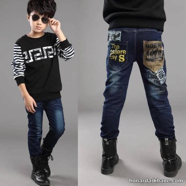 مدل های متنوع شلوار جین بچگانه