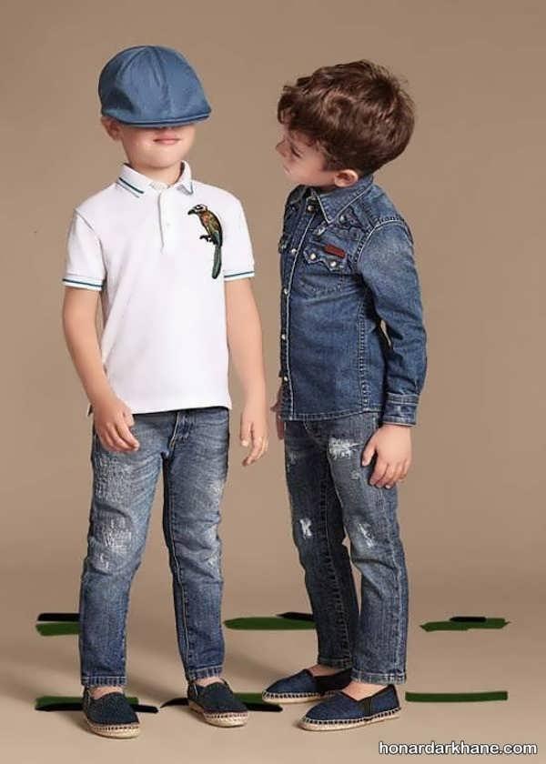 مدل شیک شلوار جین بچگانه