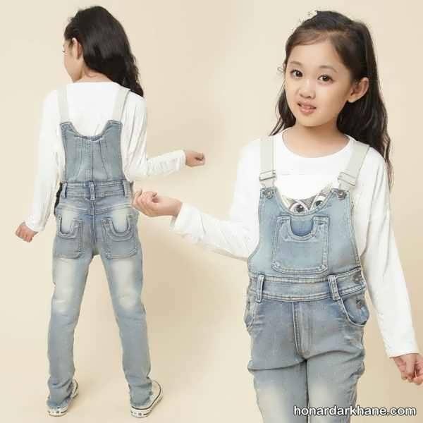 شیک ترین شلوار جین دخترانه