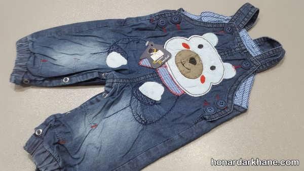 مدل عروسکی شلوار جین بچگانه