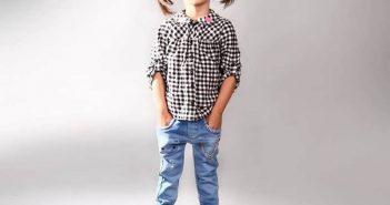 مدل شلوار لی بچگانه