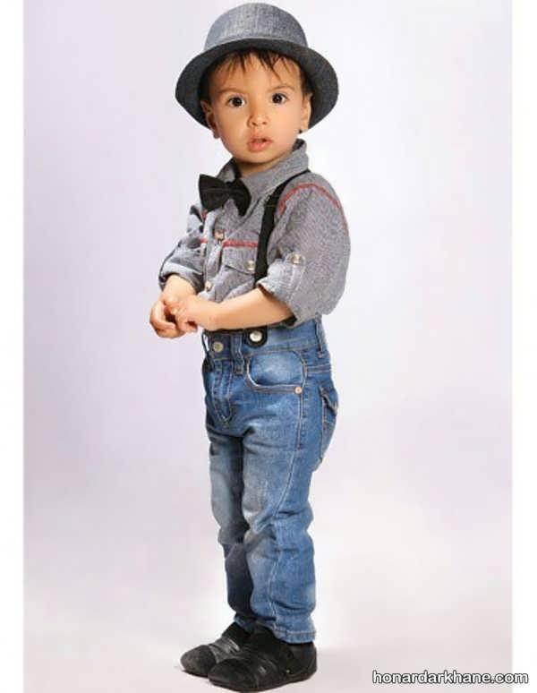 مدل شلوار جین بچگانه برای پسر بچه ها