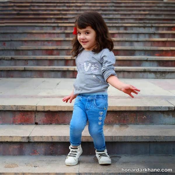 مدل زیبای شلوار بچگانه