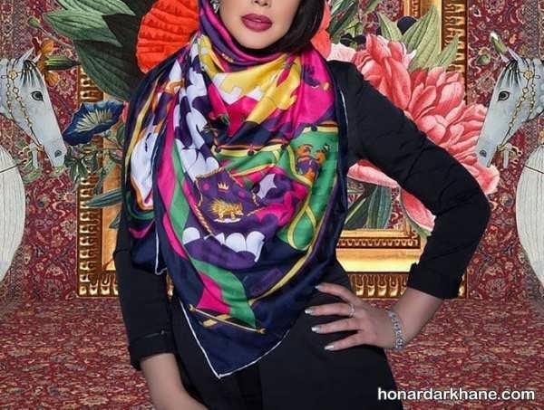 طراحی فوق العاده روسری 98
