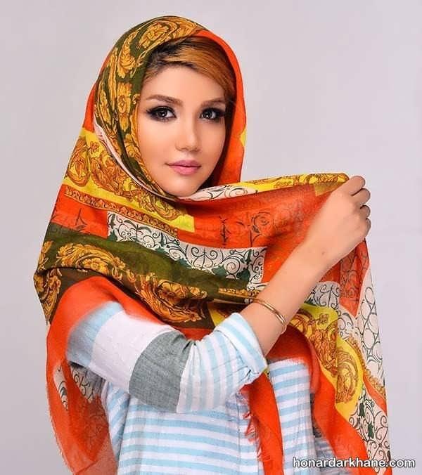 روسری با طرح جدید برای نوروز 98