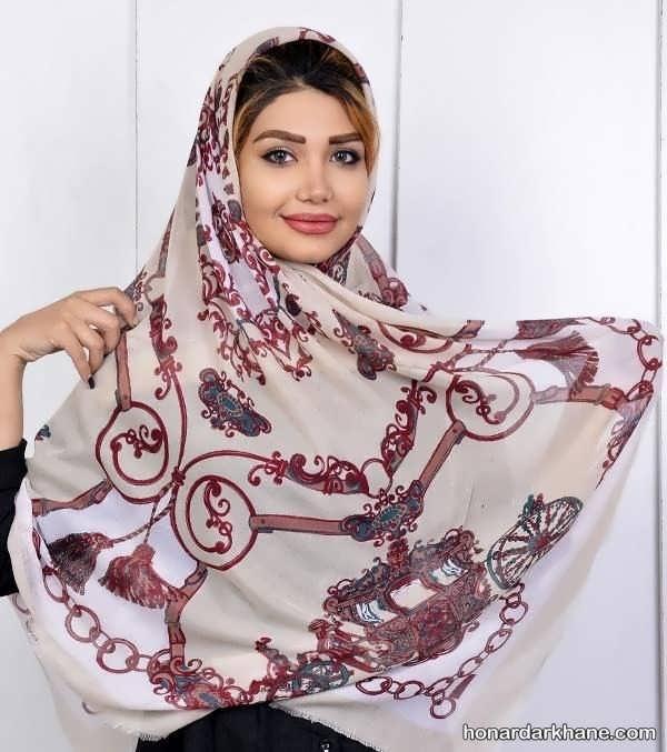 روسری با طرح زیبا 98