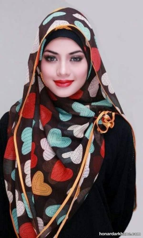 روسری با طرح های جالب 98