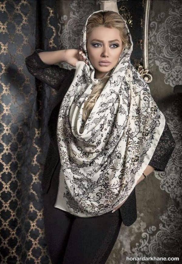 روسری با طرح های زیبا 98