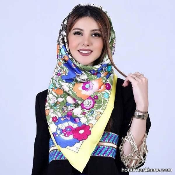 طراحی شیک روسری 98
