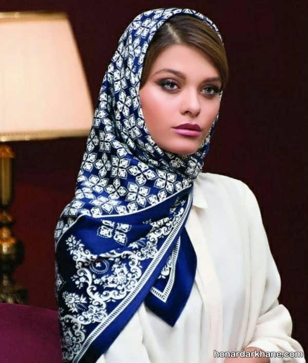 طراحی متفاوت روسری 98