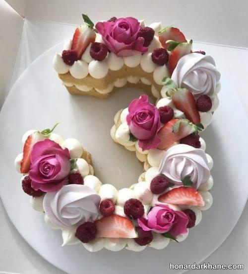 طرز تهیه بیسکو کیک عددی