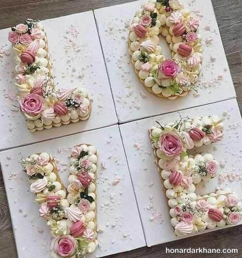 بیسکو کیک عاشقانه
