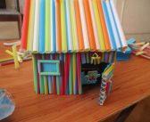 کاردستی با نی نوشابه پلاستیکی برای کودکان در سنین مختلف