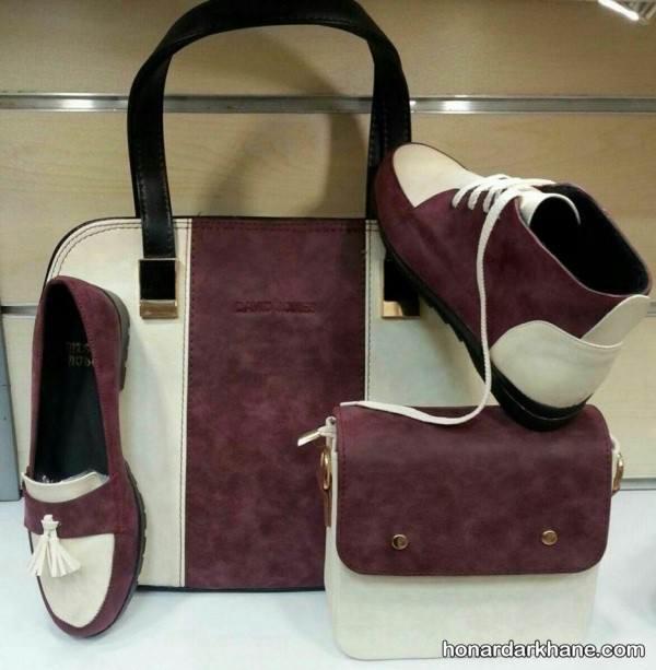 کیف و کفش اسپرت دخترانه