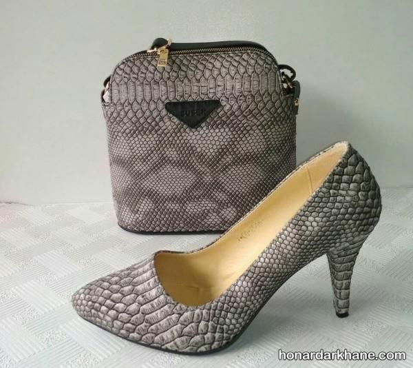 کیف و کفش زنانه ست