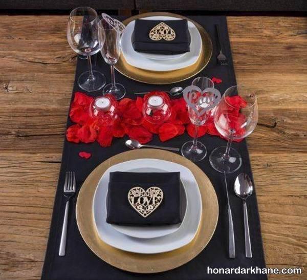 دیزاین میز برای ولنتاین