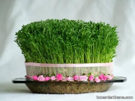 کاشت سبزه با بذرهای مختلف