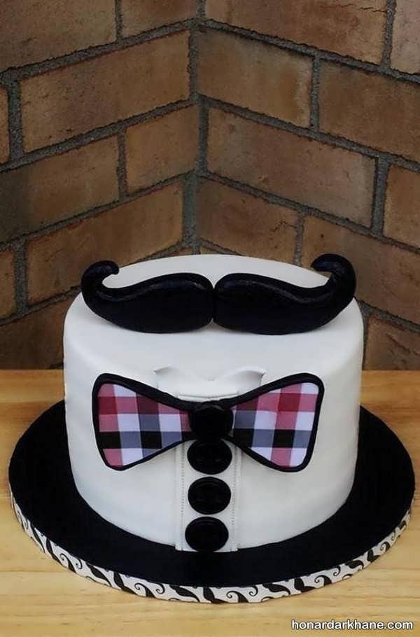 تزئین جدید کیک روز پدر و مرد