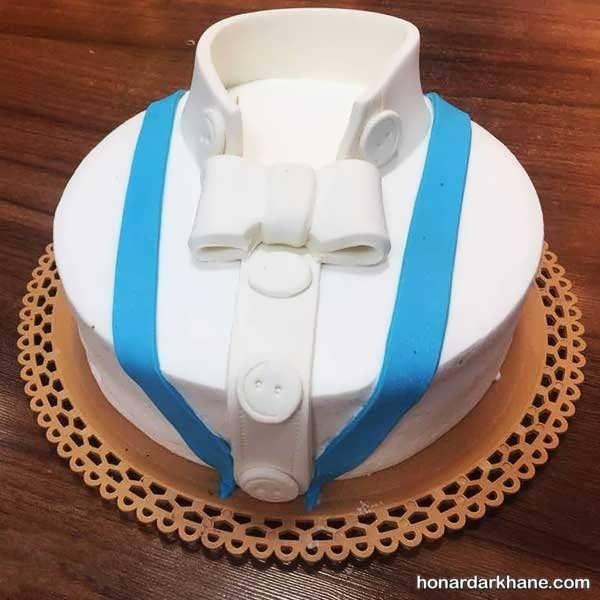 تزئین کیک روز مرد و پدر با ایده های زیبا