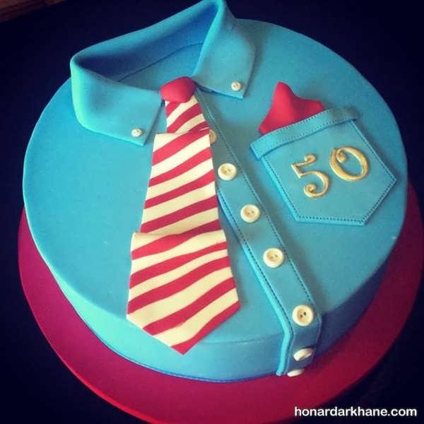 تزیینات جدید کیک روز مرد