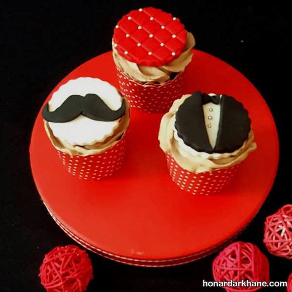 تزیینات باحال کیک روز مرد