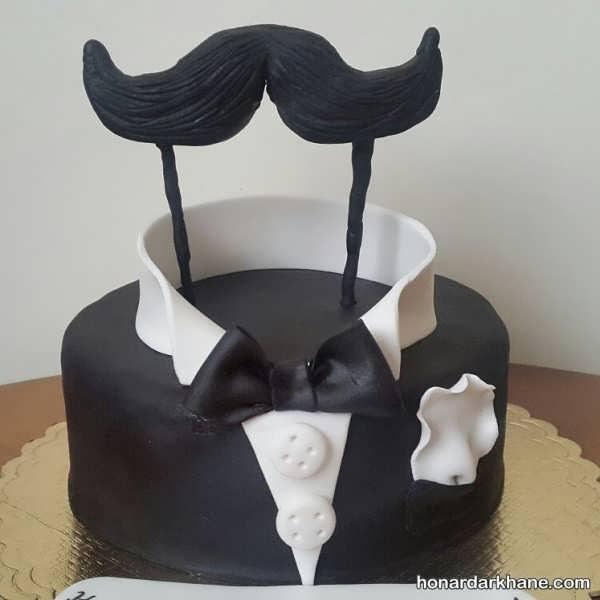 تزیینات خاص کیک روز مرد