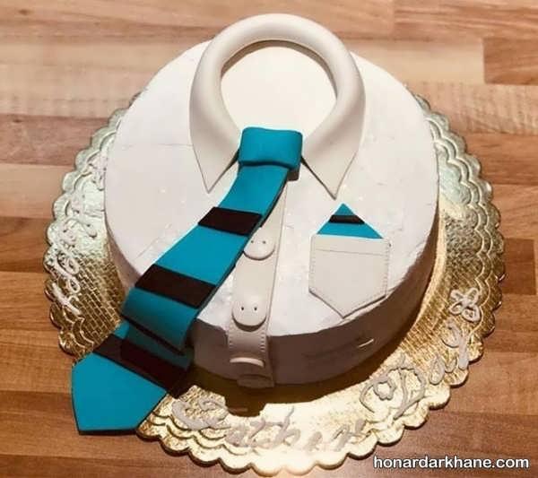 تزیینات زیبا کیک روز مرد