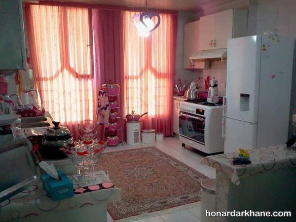 تزئین و چیدمان زیبای منزل عروس