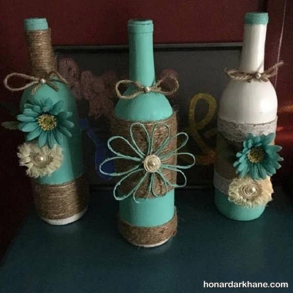 خلاقیت با بطری