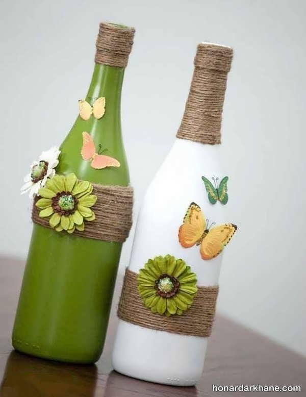 ساخت کاردستی های شیک با بطری