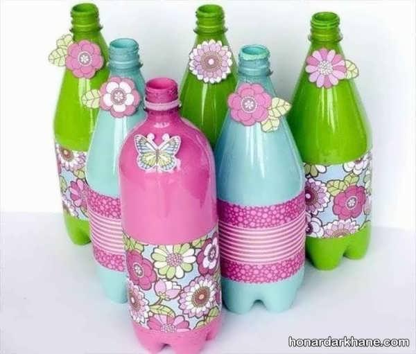 ساخت کاردستی های متفاوت و کارآمد با بطری