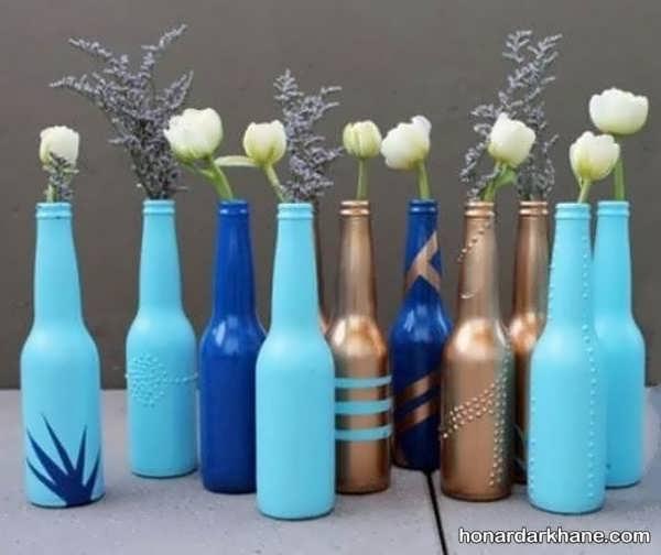 ساخت انواع کاردستی با بطری