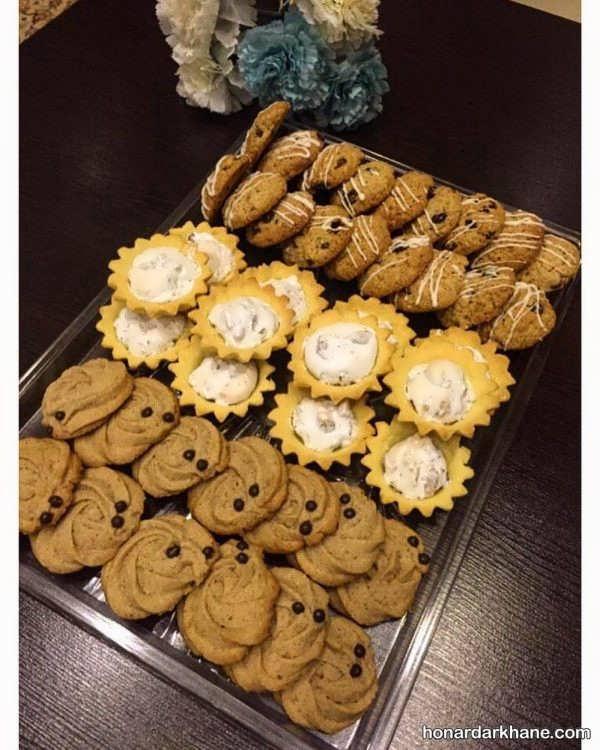 ایده های جذاب برای تزئین شیرینی عید