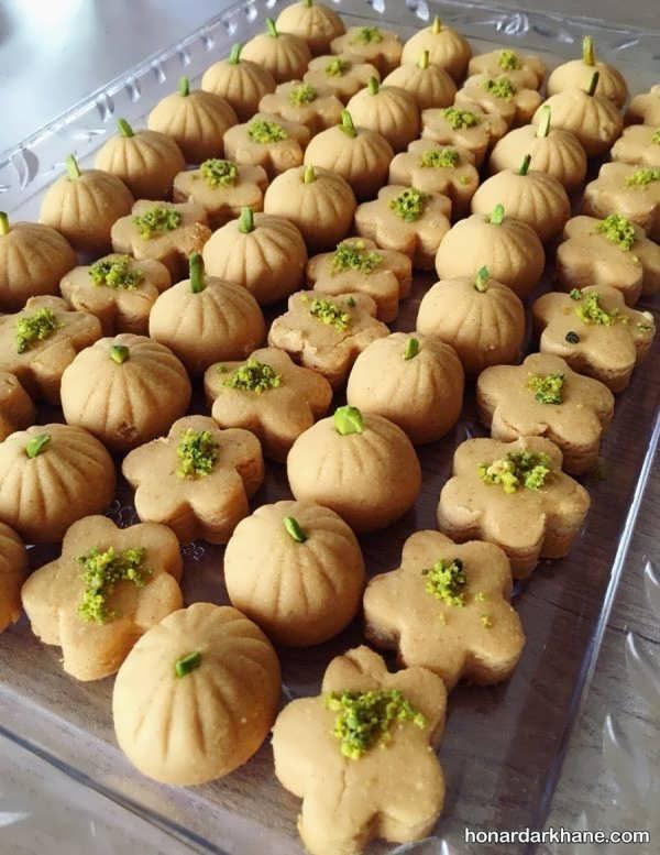 مدل های خلاقانه از تزئین شیرینی عید