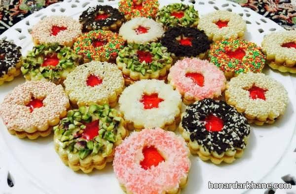 مدل های جالب از تزئین شیرینی عید