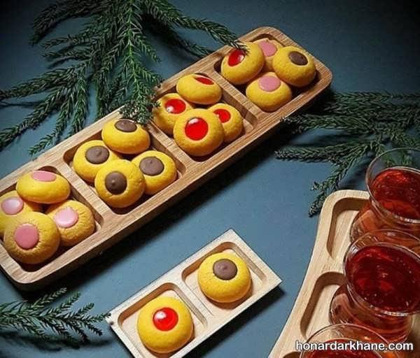 طریقه تزئین شیرینی عید