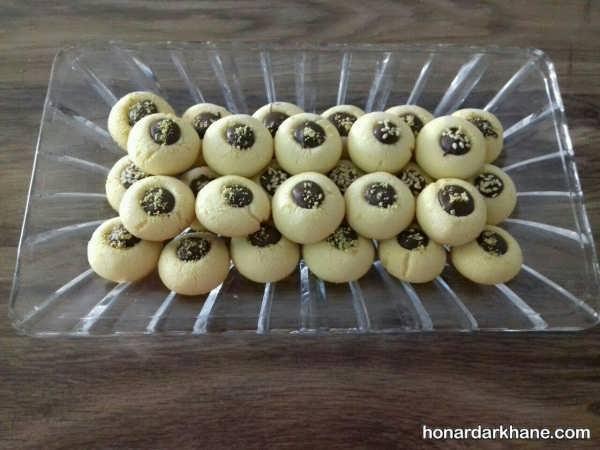 تزئین زیبای انواع شیرینی عید