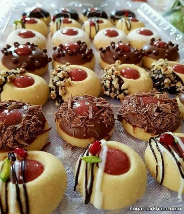 تزئین جالب انواع شیرینی عید