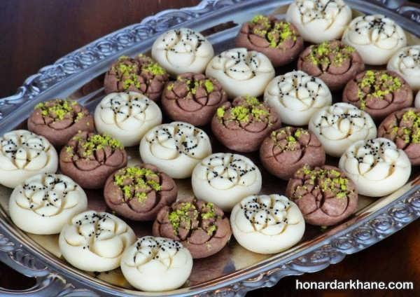 تزئین خاص شیرینی عید
