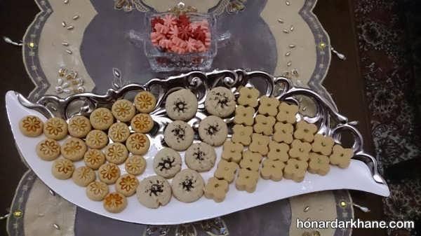 ایده های جالب برای تزئین شیرینی عید