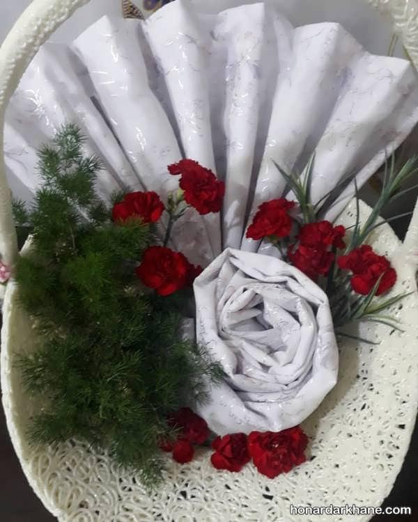 ایده های هنرمندانه برای تزیینات چادر عروس