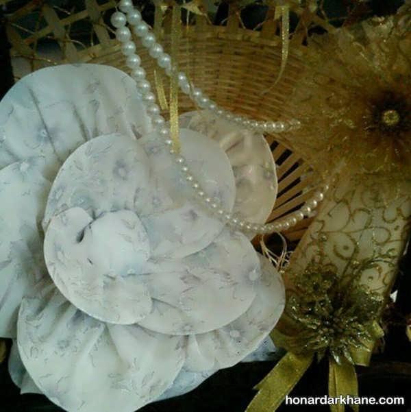 متنوع ترین تزئینات چادر عروس
