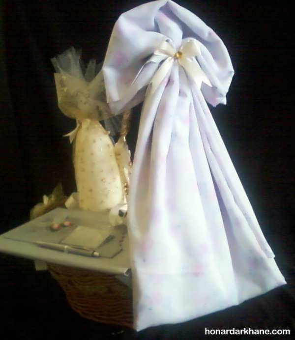 تزئین چادر عروس با ایده های خاص