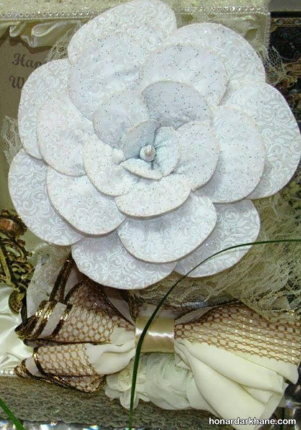 مدل های خلاقانه تزئین چادر عروس